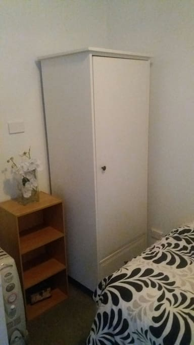 wardrobe & small book shelf