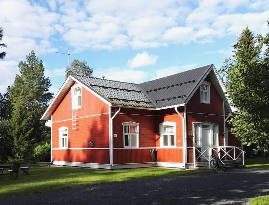 The house.