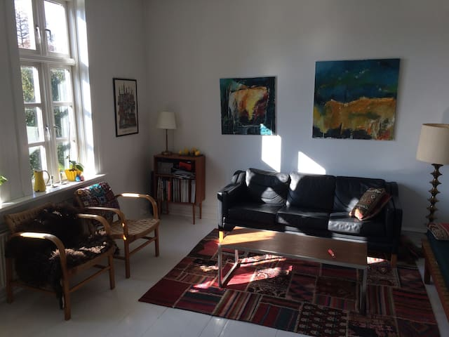 Balcony, garden and close to Metro - Kopenhaga - Apartament