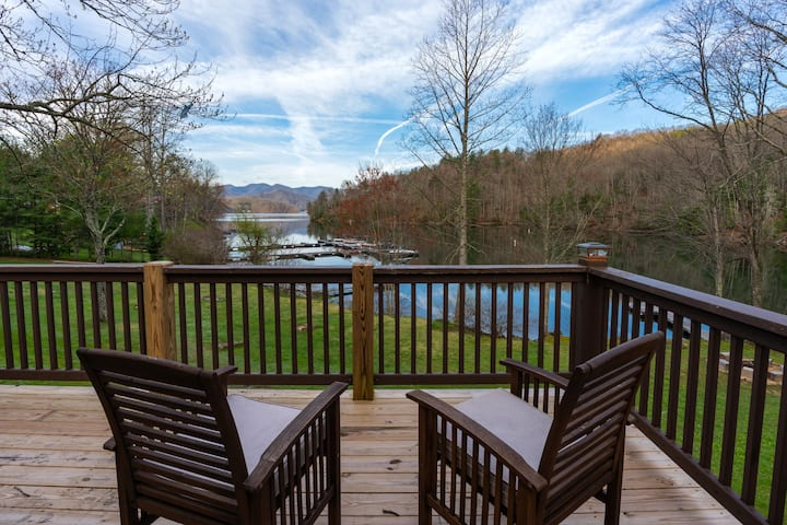 Best Waters Edge Cabin on Lake Nantahala