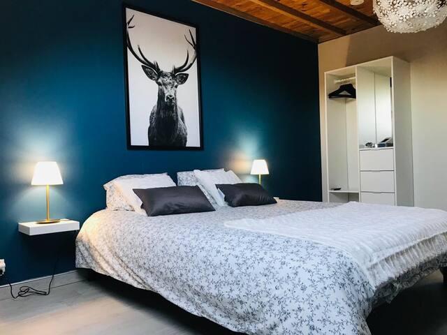 Chambre avec Espace privatif Sauna et Balnéo (5)