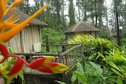 Exotica The Beach Resort Cottage with sitout