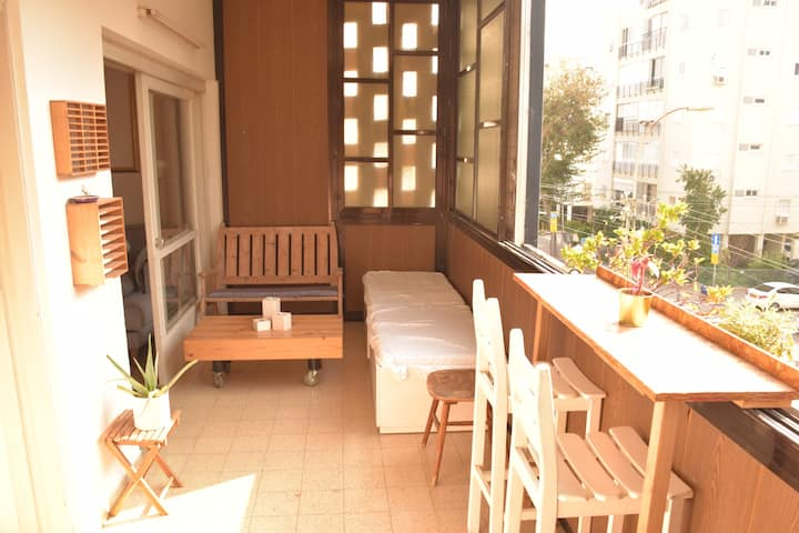 Our beautiful flat in the best area of Tel Aviv!!!