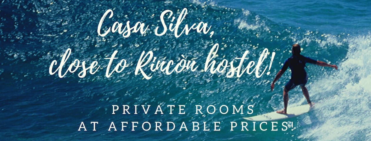 Close to Rincon, private room4, affordable!