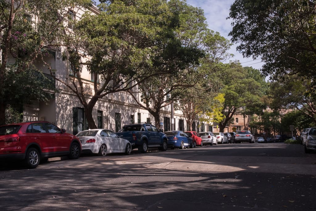 One of Darlinghurst's very best streets