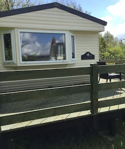 Private Caravan set in beautiful West Wales.