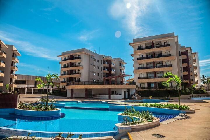 Flat -  Marina Hotel em Caldas Novas