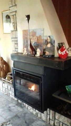 Chambre chaleureuse et confortable - Hinges - House