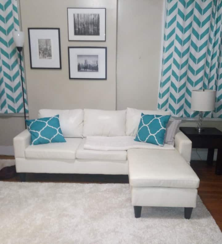 Modern suite in historical Lafayette Square