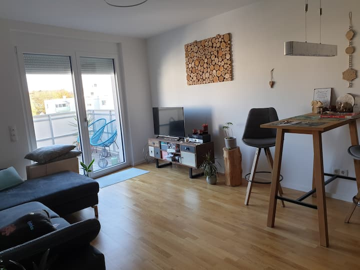 1 Zimmer einer Top modernen Wohnung in Landshut