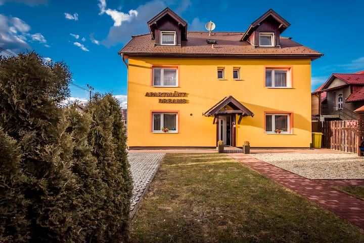 Rodinné apartmany v Bešeňovej