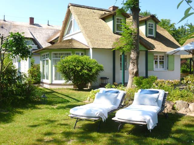 Mit Kamin: Ferienhaus Seestern