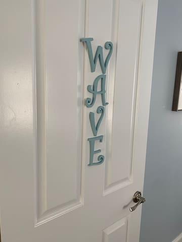 """""""Wave"""" 1st floor 2 Twin XL bedroom."""