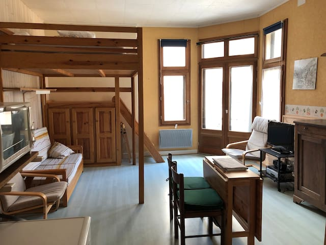 Le Refuge Marmotte Studio coeur village 2/4 pers