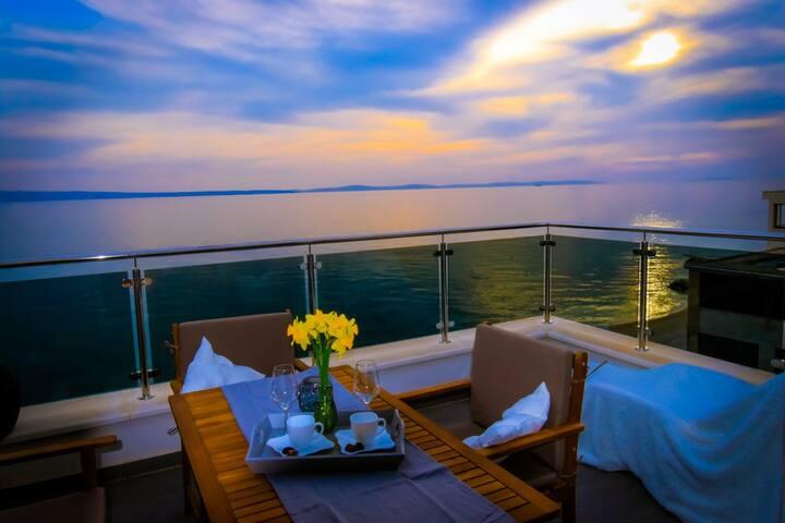 Periska - 2Bedroom Apartment with Terrace&Sea View