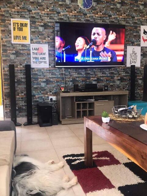 PRIVATE SPACE, WITH DSTV AND FIBRE WIFI