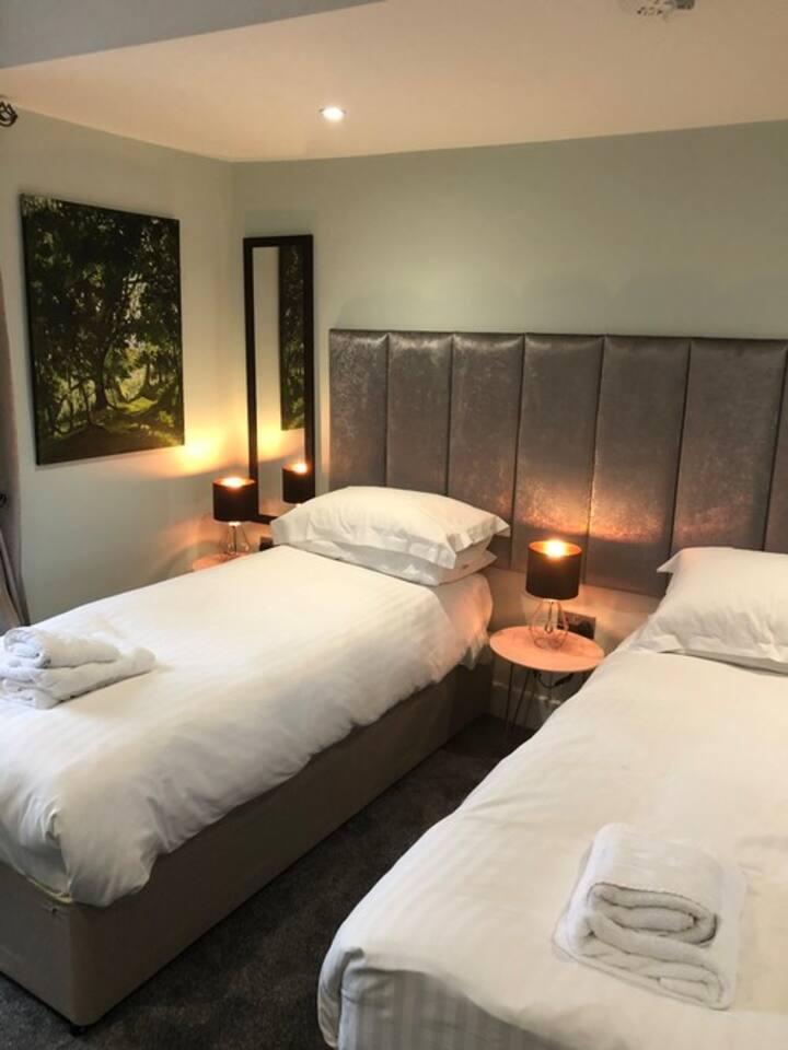 Brecon. Mount Street House Bed & Breakfast Cray room