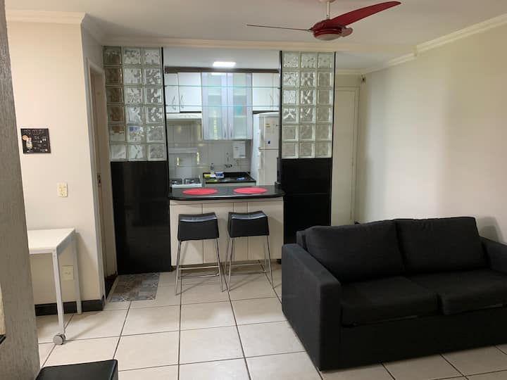Apartamento Mobiliado no CA 2, do Lago Norte