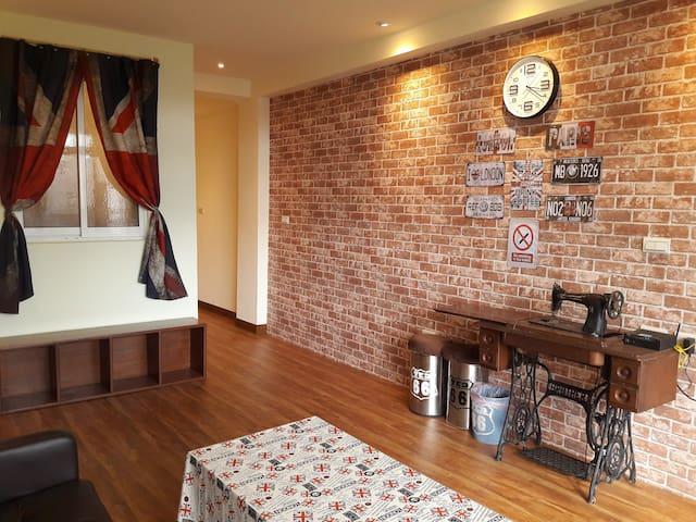 正興街國華街【雙套房】Ted16號行館 Ted NO.16 Travel Lodge - West Central District - Appartement