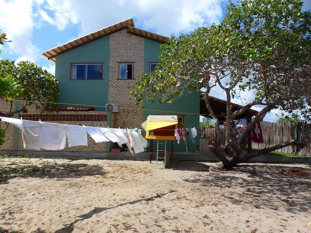 Dachzelt im Garten - São Miguel do Gostoso