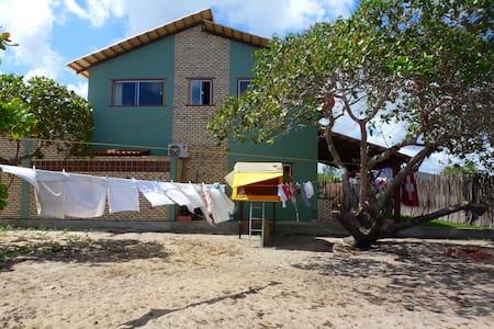 Dachzelt im Garten - São Miguel do Gostoso - Tält