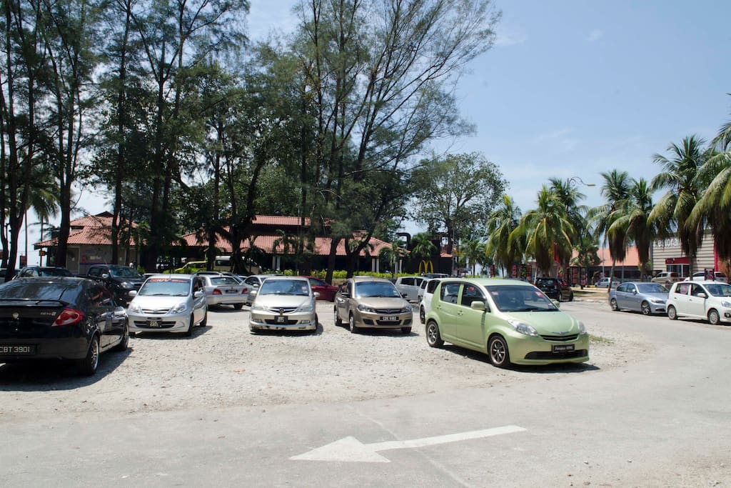 TCB Parking areas