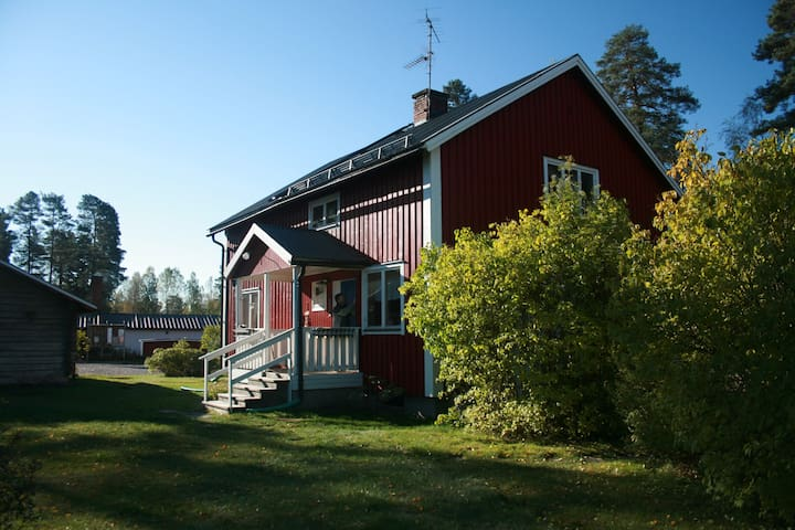 Gammal Affär, Uvanå, Traditional Swedish Cottage - Uvanå - Talo