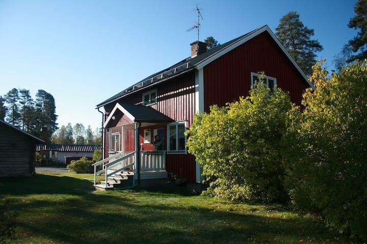 Gammal Affär, Uvanå, Traditional Swedish Cottage