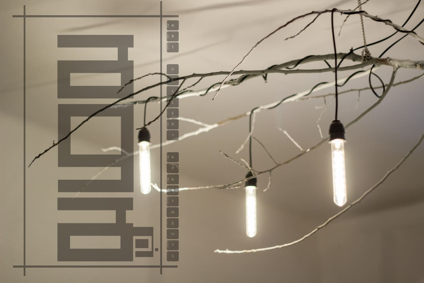 Light instalation - Human by Nature Exhibition -