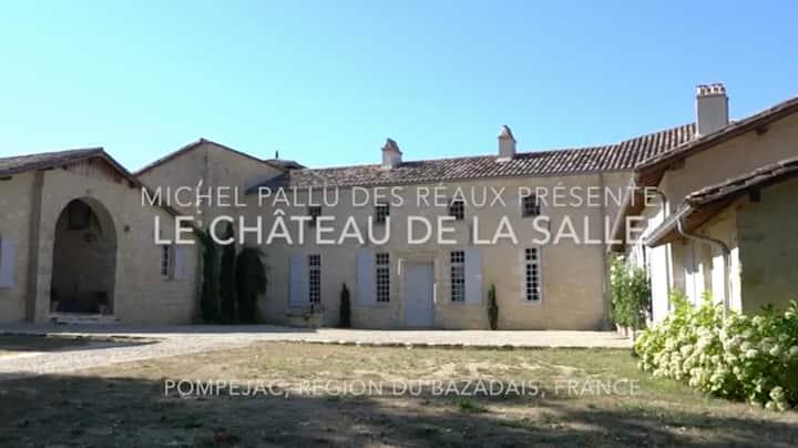 Château de La Salle + pool house + piscine