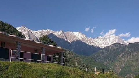 Quaint guesthouse amidst mountains and nature
