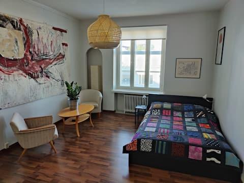 Prostrani studio za hlađenje u Helsinkiju