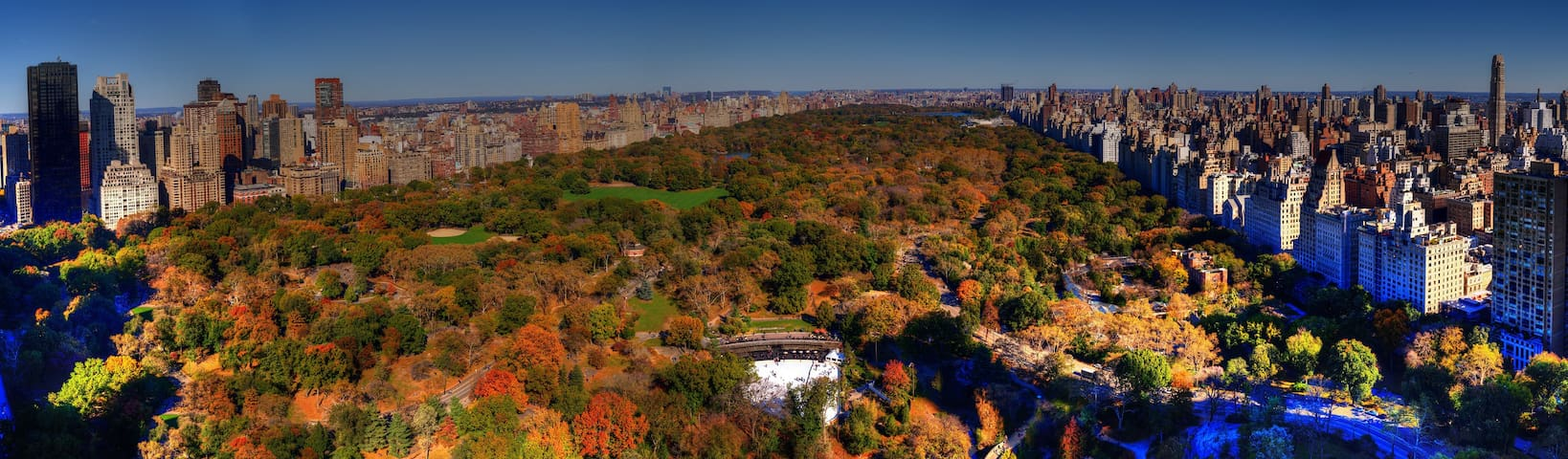 Enjoy Great View of Central Park in a Large Room
