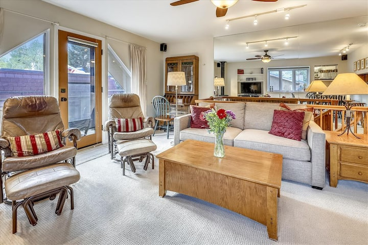 Very Nice Downtown Aspen condo w/deck