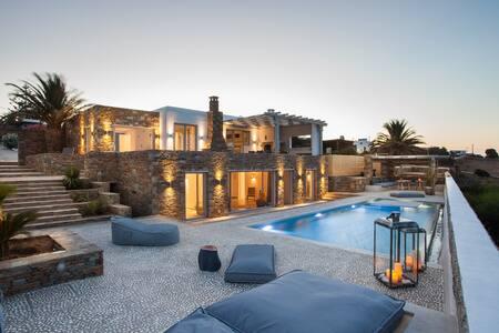 Myconian Platinum Villa with Private Pool - Kalafati - Villa