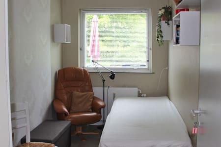Værelse nr. 1 - lille værelse med en enkelt seng