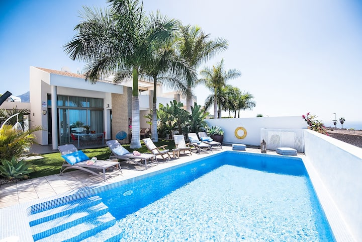 Villa Caleta Golf Costa Adeje Tenerife