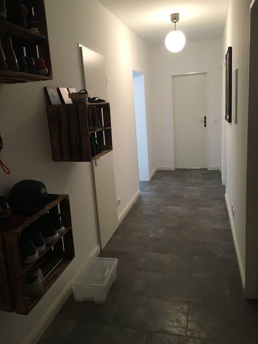 Our corridor.