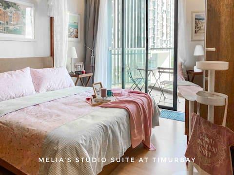 Melia Studio Suite @ TimurBay SEAVIEW+WIFI+NETFLIX