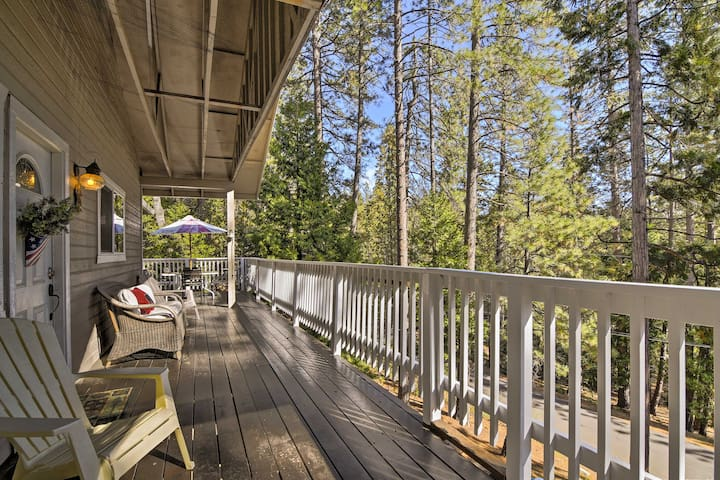 NEW! 3BR Arnold Cabin w/Forest Views & Lake Access