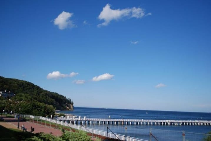 Gdynia-Orłowo (5min do plaży+prywatny ogród)
