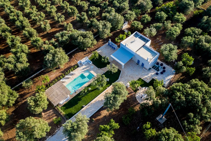Luxurious Villa with private pool in Ostuni
