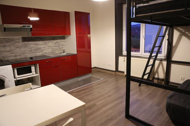 Studio tout équipé - Besançon - Wohnung