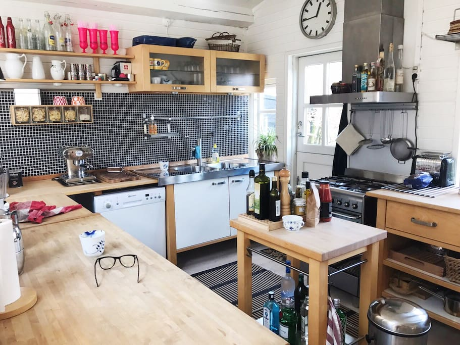 The cozy kitchen
