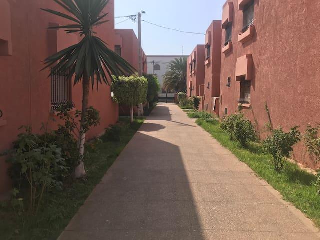 Maison El Nahda 1/ 3 min de marche à la plage 🏖
