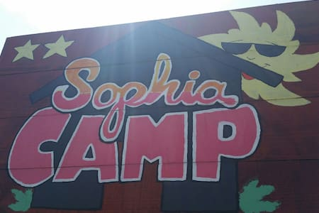 Camping Sophia Vama Veche - twin beds room