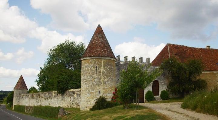 Gîte 2 personnes-Manoir de La Moussetière (16 ème)