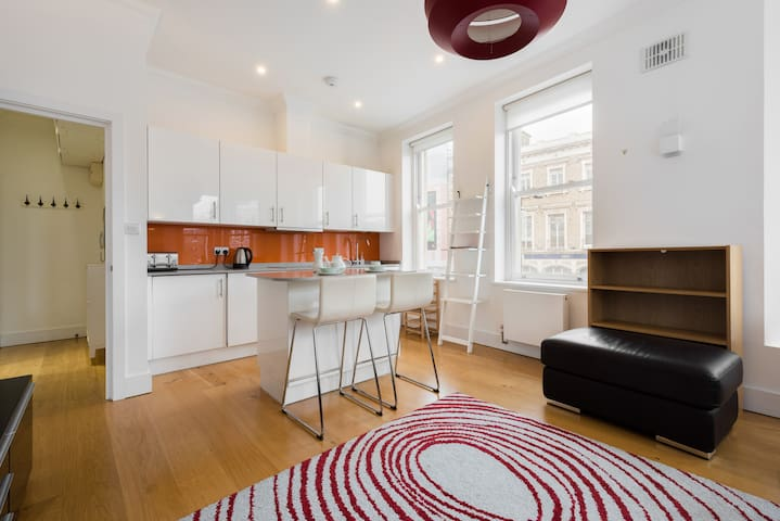 Stunning 1-Bed In The Heart Of Camden Town - London - Apartment