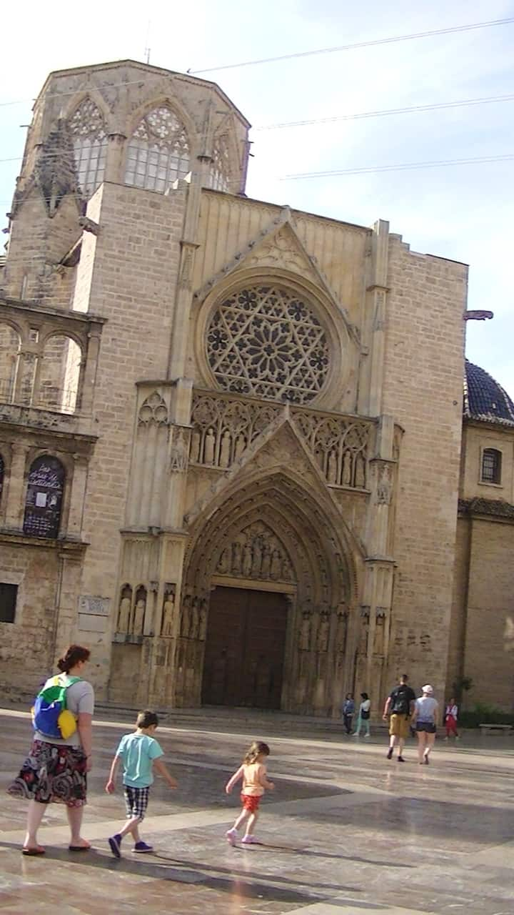 Gothic gate of the Cathedral