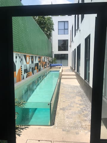 New independent loft near Coyoacán, Metro&Downtown